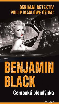 Černooká blondýnka obálka knihy