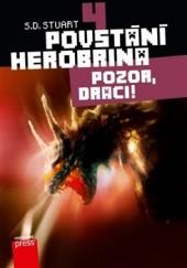 Povstání Herobrina 4 - Pozor, draci! obálka knihy
