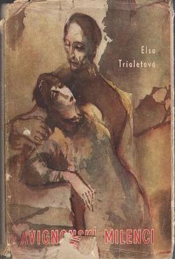 Avignonskí milenci obálka knihy