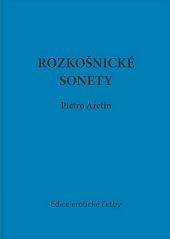 Rozkošnické sonety božského Pietra Aretina obálka knihy
