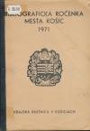 Bibliografická ročenka mesta Košíc 1971
