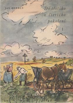 Do třetího a čtvrtého pokolení I. obálka knihy