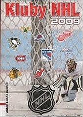 Kluby NHL 2009 obálka knihy