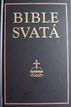 Bible Svatá obálka knihy