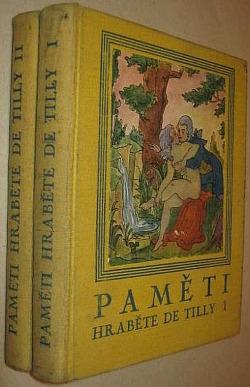 Paměti hraběte de Tilly II. obálka knihy