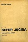 Sefer Jecira: Kabalistická studie