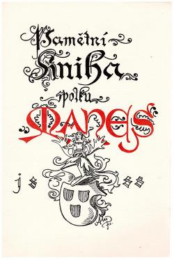 Listy z Pamětní knihy Spolku výtvarných umělců Mánes obálka knihy