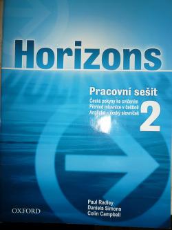 Horizons Pracovní sešit 2 obálka knihy