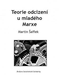 Teorie odcizení u mladého Marxe obálka knihy