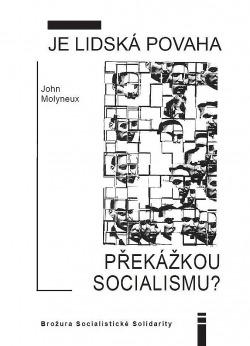 Je lidská povaha překážkou socialismu? obálka knihy