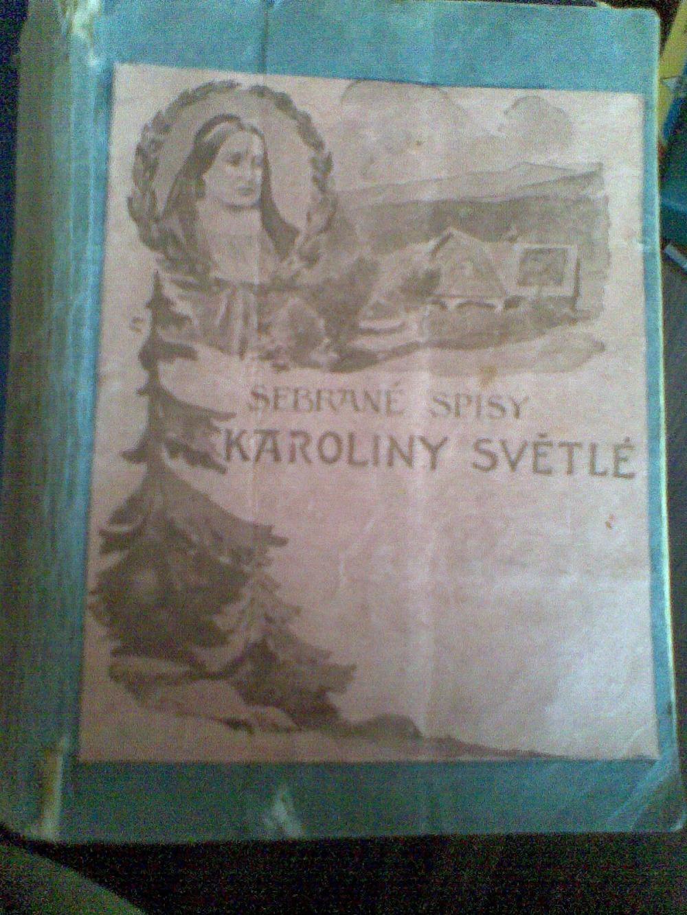 Sebrane Spisy Karoliny Svetle Povidky Databaze Knih