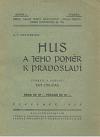 Hus a jeho poměr k pravoslaví