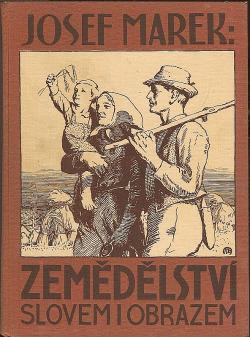 Zemědělství slovem i obrazem obálka knihy