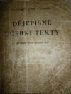Dějepisné učební texty pro osmou třídu středních škol