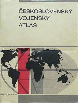 Československý vojenský atlas obálka knihy