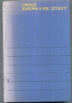 Evropa v XIX. století obálka knihy