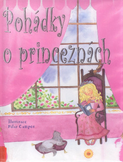 Pohádky o princeznách obálka knihy
