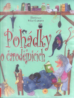 Pohádky o čarodějnicích obálka knihy