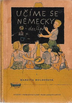 Učíme se německy I. obálka knihy