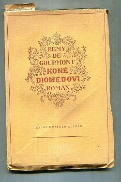 Koně Diomedovi obálka knihy