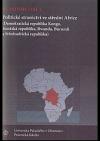 Politické stranictví ve střední Africe: Konžská republika, Rwanda, Burundi, Demokratická republika Kongo a Středoafrická republika