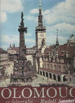 Olomouc ve fotografii Rudolfa Smahela obálka knihy