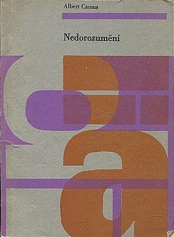 Nedorozumění obálka knihy