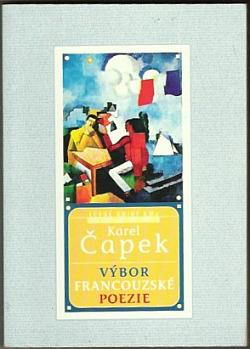 Výbor francouzské poezie obálka knihy