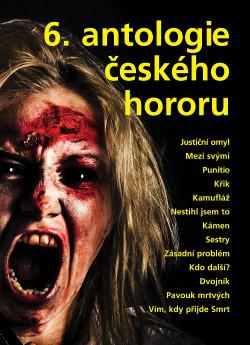 6. antologie českého hororu obálka knihy