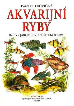 Akvarijní ryby obálka knihy