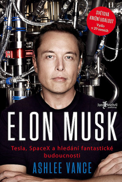 Elon Musk obálka knihy