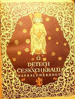 O dětech českých králů obálka knihy
