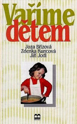 Vaříme dětem obálka knihy