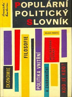 Populární politický slovník obálka knihy