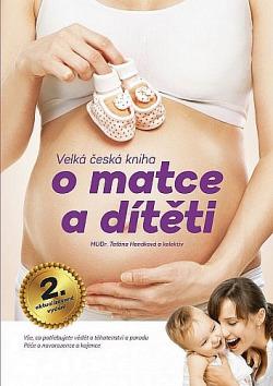 Velká česká kniha o matce a dítěti obálka knihy