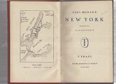 New York obálka knihy