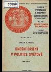 Dnešní Orient v politice světové