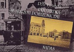 Projížďka se starými pohlednicemi obálka knihy