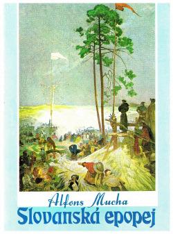 Slovanská epopej obálka knihy