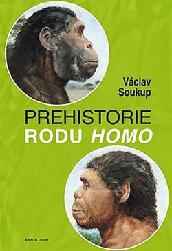 Prehistorie rodu Homo obálka knihy
