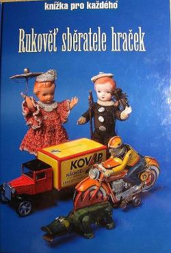 Rukověť sběratele hraček obálka knihy