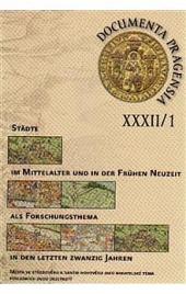Documenta Pragensia XXXII/1 obálka knihy
