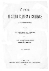 Úvod do studia člověka a civilisace