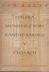 Italské monodie z doby raného baroku v Čechách