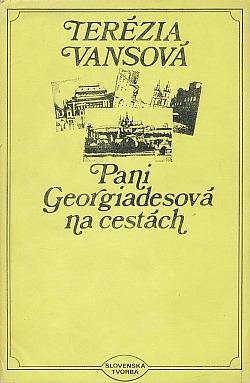 Pani Georgiadesová na cestách obálka knihy