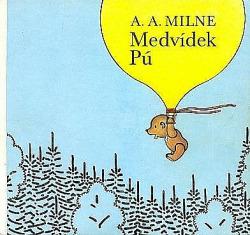 Medvídek Pú obálka knihy