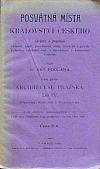 Posvátná místa království českého, Arcidiecese pražská díl IV. Vikariáty: Kolínský a Rokycanský