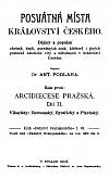 Posvátná místa království českého, Arcidiecese pražská díl II., Vikariáty: Berounský, Bystřický a Plzeňský