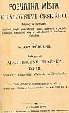 Posvátná místa království českého, Arcidiecese pražská díl III., Vikariáty: Kralovický, Vlašimský a Zbraslavský