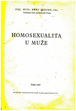Homosexualita u muže obálka knihy
